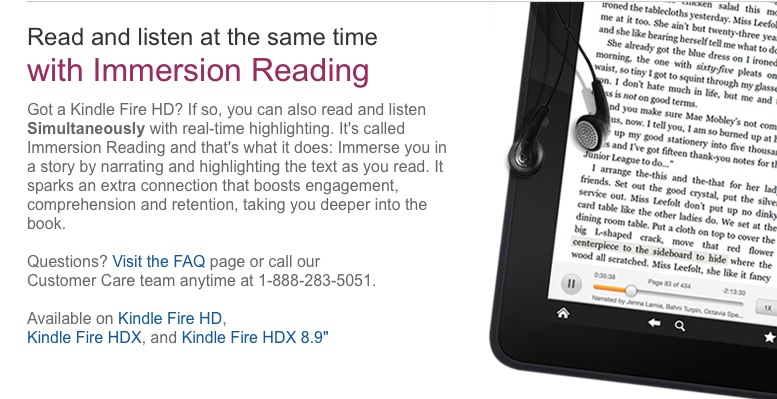 Kindle And Immersion Reading Messy Professional